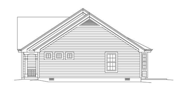 Colonial Floor Plan - Other Floor Plan Plan #57-636