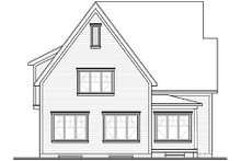 Dream House Plan - European Exterior - Rear Elevation Plan #23-335