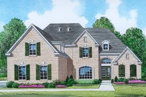 Traditional Exterior - Front Elevation Plan #424-361