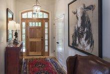 Craftsman Interior - Entry Plan #929-14