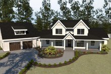 Farmhouse Exterior - Front Elevation Plan #1070-23