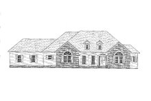 House Plan Design - Traditional Exterior - Front Elevation Plan #437-110