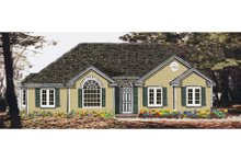 House Plan Design - Ranch Exterior - Front Elevation Plan #3-113