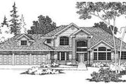 Modern Style House Plan - 3 Beds 2.5 Baths 2964 Sq/Ft Plan #124-367 Exterior - Other Elevation
