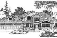 Dream House Plan - Modern Exterior - Other Elevation Plan #124-367