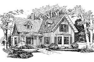Farmhouse Exterior - Front Elevation Plan #72-328
