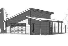 Modern Exterior - Front Elevation Plan #23-2675