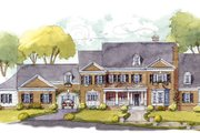 Colonial Style House Plan - 5 Beds 5 Baths 7124 Sq/Ft Plan #429-48