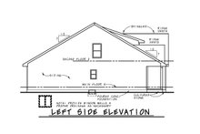 Home Plan - Craftsman Exterior - Other Elevation Plan #20-2398
