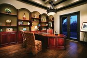 Mediterranean Style House Plan - 4 Beds 5 Baths 3031 Sq/Ft Plan #930-22 Photo