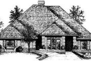 Traditional Style House Plan - 4 Beds 2.5 Baths 2149 Sq/Ft Plan #310-113 Exterior - Front Elevation