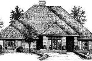 Traditional Exterior - Front Elevation Plan #310-113