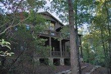 Dream House Plan - Craftsman Exterior - Rear Elevation Plan #429-45