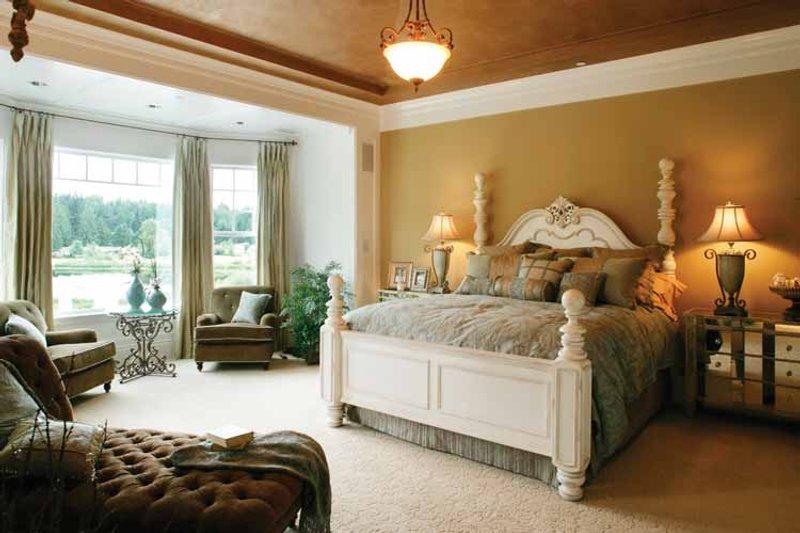 Prairie Interior - Master Bedroom Plan #132-354 - Houseplans.com