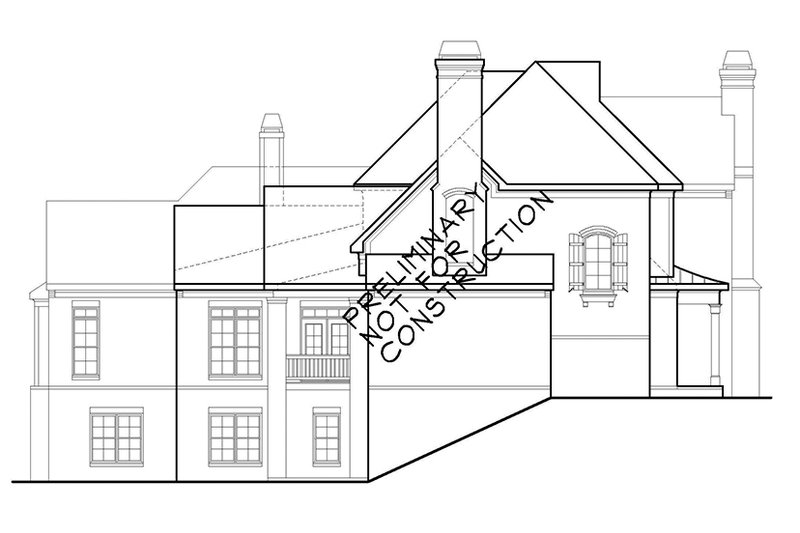 Country Exterior - Other Elevation Plan #927-479 - Houseplans.com
