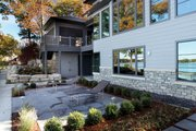 Contemporary Style House Plan - 4 Beds 4.5 Baths 6717 Sq/Ft Plan #928-261 Exterior - Rear Elevation