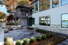 Home Plan - Contemporary Exterior - Rear Elevation Plan #928-261