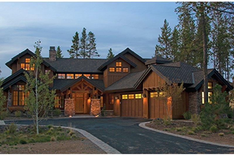 Craftsman Exterior - Front Elevation Plan #892-19 - Houseplans.com