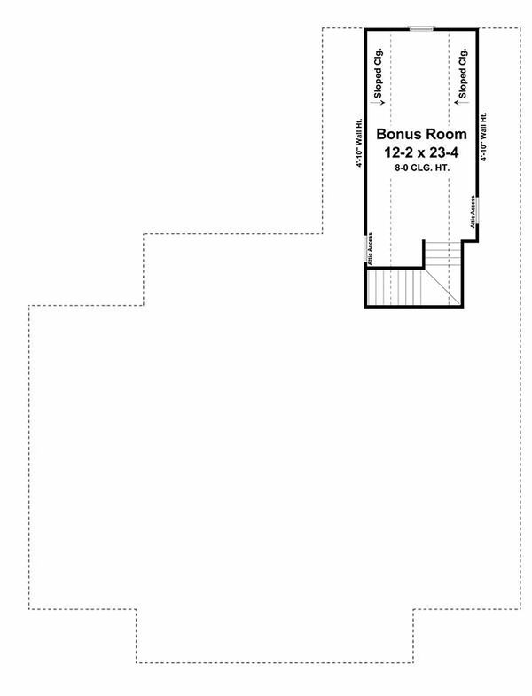 Southern Floor Plan - Other Floor Plan Plan #21-255