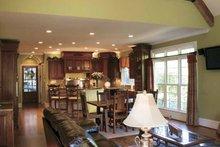 Home Plan Design - Mediterranean Interior - Kitchen Plan #927-202