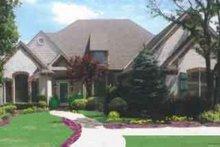 House Plan Design - European Exterior - Front Elevation Plan #52-184