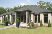 Ranch Style House Plan - 3 Beds 2.5 Baths 3374 Sq/Ft Plan #17-2273 Exterior - Other Elevation