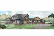 Traditional Style House Plan - 3 Beds 3.5 Baths 3393 Sq/Ft Plan #928-238 Exterior - Front Elevation