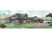 Architectural House Design - Traditional Exterior - Front Elevation Plan #928-238