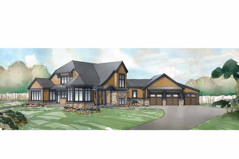 Traditional Exterior - Front Elevation Plan #928-238 - Houseplans.com