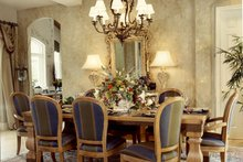 Mediterranean Interior - Dining Room Plan #417-796