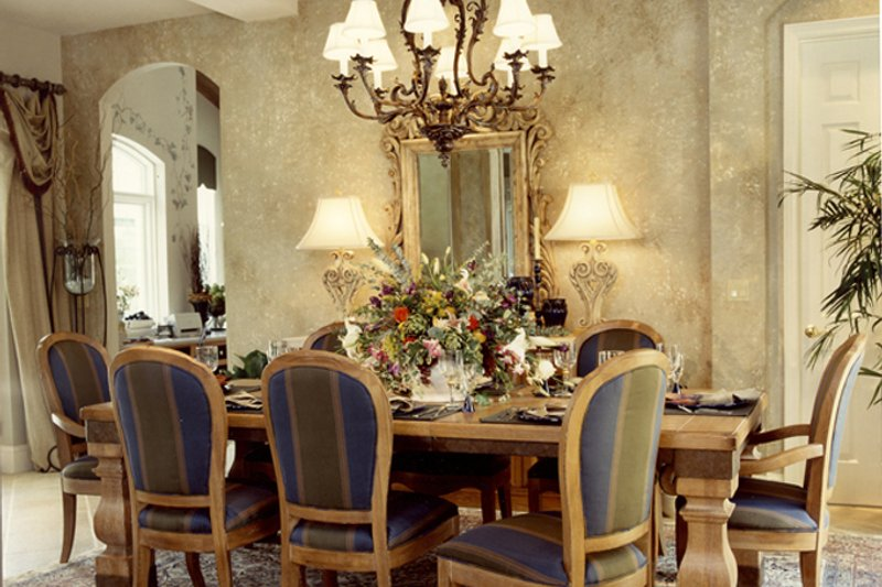 Mediterranean Interior - Dining Room Plan #417-796 - Houseplans.com