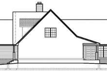 Dream House Plan - Ranch Exterior - Other Elevation Plan #1051-11