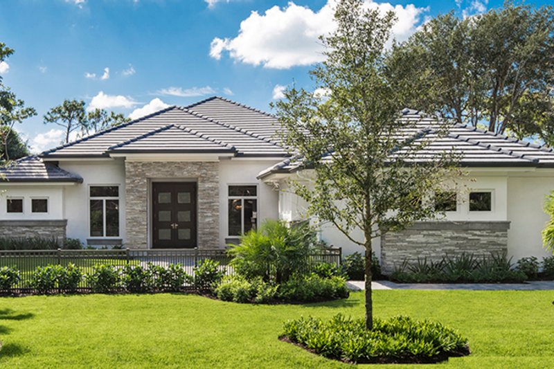 Ranch Exterior - Front Elevation Plan #1017-164 - Houseplans.com