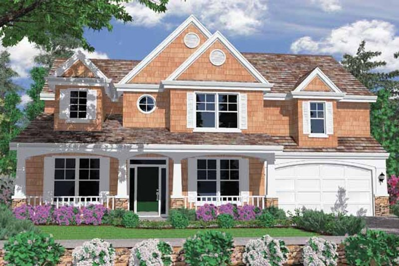 Contemporary Exterior - Front Elevation Plan #509-326