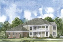 Colonial Exterior - Front Elevation Plan #952-200