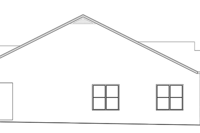 Craftsman Exterior - Other Elevation Plan #1058-136 - Houseplans.com