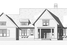 Cottage Exterior - Front Elevation Plan #901-139