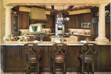 Home Plan Design - Mediterranean Interior - Kitchen Plan #930-398
