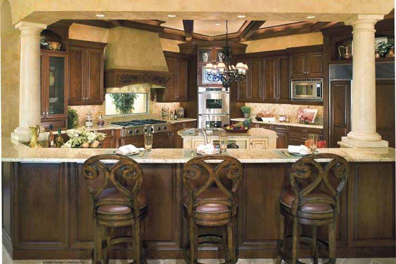 Mediterranean Interior - Kitchen Plan #930-398 - Houseplans.com
