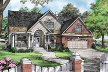 Home Plan - Country Exterior - Front Elevation Plan #929-888