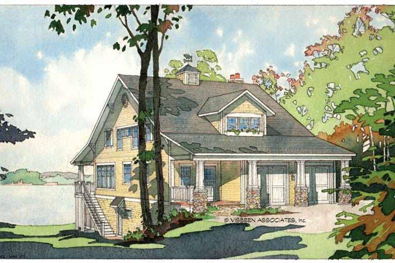 House Plan Design - Bungalow Exterior - Front Elevation Plan #928-22