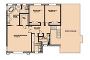 Traditional Style House Plan - 4 Beds 3 Baths 3136 Sq/Ft Plan #515-3 Floor Plan - Upper Floor Plan