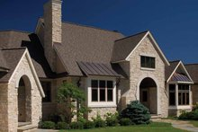 Country Exterior - Front Elevation Plan #928-99