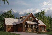 Dream House Plan - Farmhouse Exterior - Other Elevation Plan #923-181
