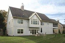 House Plan Design - European Exterior - Rear Elevation Plan #928-153