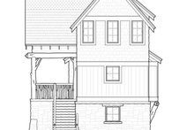 Cabin Exterior - Rear Elevation Plan #928-246