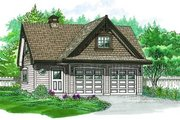 Craftsman Style House Plan - 0 Beds 0 Baths 1434 Sq/Ft Plan #47-518 Exterior - Front Elevation