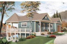 House Plan Design - Country Exterior - Front Elevation Plan #23-2478