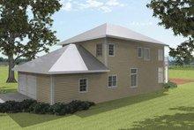 House Plan Design - Traditional Exterior - Rear Elevation Plan #44-215