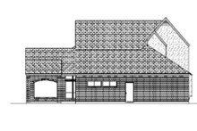 Home Plan - European Exterior - Rear Elevation Plan #84-406